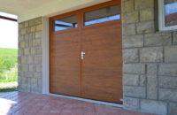 dvoukřídlá vrata
